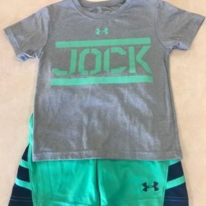 Under Armor Boys Athletic Outfit